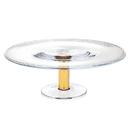Godinger 99565 Mandril Gold 16 Inch Cake Stand
