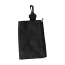 GOGO Golf Tee Holder, Valuables Pouch, Tool Pouch with Zipper and Carabiner