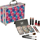 Ver Beauty Multicolor Floral 20pcs Makeup Gift Set with Aluminum Case and Mirror - VMK1102