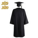 TOPTIE Adult Unisex Graduation Matte Gown Cap with Tassel 2019 for High School and Bachelor