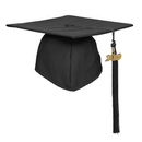 TOPTIE Unisex Adult Matte Graduation Cap Hat with 2019 Tassel for High School and Bachelor