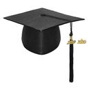TOPTIE Shiny Kindergarten Child Size Graduation Cap Hat with 2019 Tassel