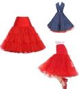 TOPTIE Women 50s Petticoat Skirts Vintage Rockabilly Petticoat Skirt Tutu Crinoline Underskirt