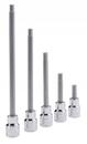 """Genius Tools 3/8"""" Dr. 4mm Hex Bit Socket, 50mmL - 308+2134"""