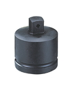 "Genius Tools 1-1/2"" Dr. Impact Adapter w/pin hole, 1-1/2""F X 1""M (CR-Mo) - 938008"