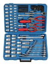 "Genius Tools 125PC 1/4"", 3/8"" & 1/2"" Dr. Metric Tool Set - AC-234125"