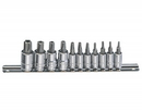 "Genius Tools 11PC 1/4"" & 3/8"" Dr. Pentacle Bit Socket Set - BS-2311P"