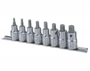 "Genius Tools 8PC 1/2"" Dr. Metric Hex Bit Socket Set - BS-408H"