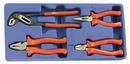 Genius Tools CP-5804 4PC General Purpose Pliers Set