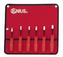 Genius Tools NM-006S 6PC SAE Hex Nut Driver Set (with magnet)