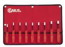 Genius Tools NM-009M 9PC Metric Hex Nut Driver Set (with magnet)