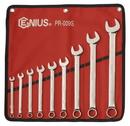 Genius Tools PR-009S 9PC SAE Combination Wrench Set (Mirror Finish)