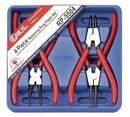 Genius Tools RP-5504 4PC Retaining Ring Pliers Set