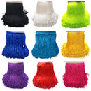 Muka Chainette Fringe 6 Inch 10 Yards Tassels Trim Lace for Halloween Costume, Sewing Craft