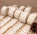 Cotton Lace Trim 10 Yards Crochet Lace Sew-on Lace, Multi-Size, for Curtain Making, Dress Ornament, Home Decoration