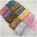 Muka 15 Yards Guipure Lace with Fringe 3 1/2