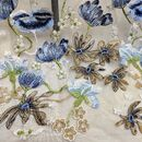 Floral Embroidered Lace Fabric 51