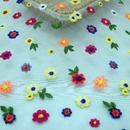 Lovely Flower Tulle Fabric 51