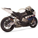 Hotbodies Racing 21001-2400 BMW S1000RR (10-14') MGP Exhaust - Slip on Carbon Fiber Canister