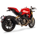 Hotbodies Racing 31401-2400 DUC. Monster 821/1200/S (14-20) MGP Exhaust Slip-on Carbon Fiber Canister