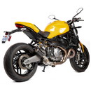 Hotbodies Racing 31401-2405 DUC. Monster 821/1200/S (14-20) MGP Exhaust Slip-on Stinger Matte Carbon Canister