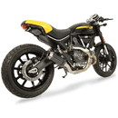 Hotbodies Racing 31501-2403 DUC. Scrambler 2015-20 & Monster 797 2017-20 MGP Exhaust - Slip on Stainless Steel Canister