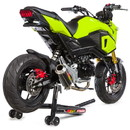 Hotbodies Racing 41602-2414 HON. MSX125 Grom (16-19') MGP Exhaust - Full Sys. Low Mount CF w/ Stainless End Cap