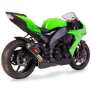 Hotbodies Racing 50801-2400 KAW. ZX10R (08-10') MGP Exhaust - Slip on Carbon Fiber Canister