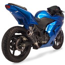 Hotbodies Racing 50802-1107 KAW. Ninja 250R (08-12') w/ Built in LED Signals - Transparent Smoke
