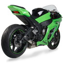 Hotbodies Racing 51101-2100 KAW. ZX10R (11-19') Megaphone Exhaust Slip-On - Polished