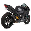 Hotbodies Racing 51101-2400 KAW. ZX10R (11-19') MGP Exhaust - Slip on Carbon Fiber Canister