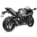 Hotbodies Racing 51101-2405 KAW. ZX10R (11-19') MGP Exhaust - Slip-on Stinger Matte Carbon Canister