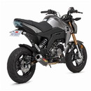 Hotbodies Racing 51602-2400 KAW. Z125 (16-19') MGP Exhaust - Full System - Carbon Fiber Canister