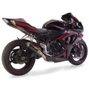 Hotbodies Racing 60610-2400 SUZ. GSX-R600/750 (06-07') MGP Exhaust - Slip on Carbon Fiber Canister