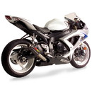Hotbodies Racing 60801-2404 SUZ. GSX-R600/750 (08-10') MGP Exhaust - CF w/ Stainless End Cap