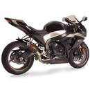 Hotbodies Racing 60901-2400 SUZ. GSX-R1000 (09-11') MGP Exhaust - Slip on Carbon Fiber Canister