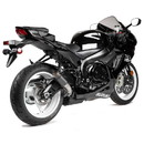 Hotbodies Racing 61101-2405 SUZ. GSX-R 600/750 (11-20') MGP Exhaust - Slip-on Stinger Matte Carbon Canister