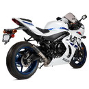 Hotbodies Racing 61701-2405 SUZ. GSX-R1000 (17-20') MGP Exhaust - Slip-on Stinger Matte Carbon Canister