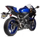 Hotbodies Racing 80801-2405 YAM. YZF-R6 (06-20') MGP Exhaust - Slip-on Stinger Matte Carbon Canister