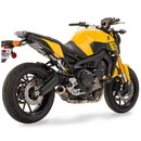 Hotbodies Racing 81402-2400 YAM. FZ/ MT/ FJ-09, XSR900 (14-20') MGP Exhaust - Full System Carbon Fiber Canister
