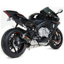 Hotbodies Racing 81501-2400 YAM. YZF-R1/M (15-20') FZ/MT-10 (16-20') MGP Exhaust - Slip on Carbon Fiber Canister