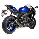 Hotbodies Racing 81501-2405 YAM. YZF-R1/M (15-19') FZ/MT-10 (16-19') MGP Exhaust - Slip-on Stinger Matte Carbon Canister