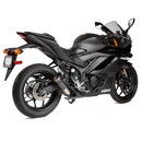 Hotbodies Racing 81502-2405 YAM. YZF-R3 (15-20') MGP Exhaust - Slip-on Stinger Matte Carbon Canister