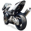 Hotbodies Racing H02RR-SB-UP CBR954RR (02-03) ABS Undertail w/ Built in LED Signal Lights - UNPAINTED