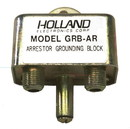 Holland Electronics GRB-AR Grounding Block, Single Splice with Gas Tube Arrestor Spike Protection