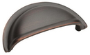 Amerock BP4235ORB Pull 3in Cup OIL RUBBED BRONZE