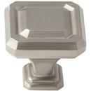 Amerock BP36546-G10 Knob Wells 1-1/4in Satin Nickel