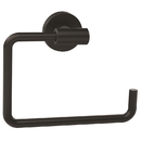 Amerock Towel Ring Arrondi Matte Black BH26541 MB