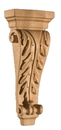 Art for Everyday Corbel Acanthus 6x2-1/2x13-3/4 Maple