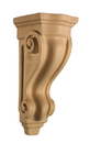 Art for Everyday Corbel Scroll 5-3/4 x 6-1/2 x 14-1/2 Maple